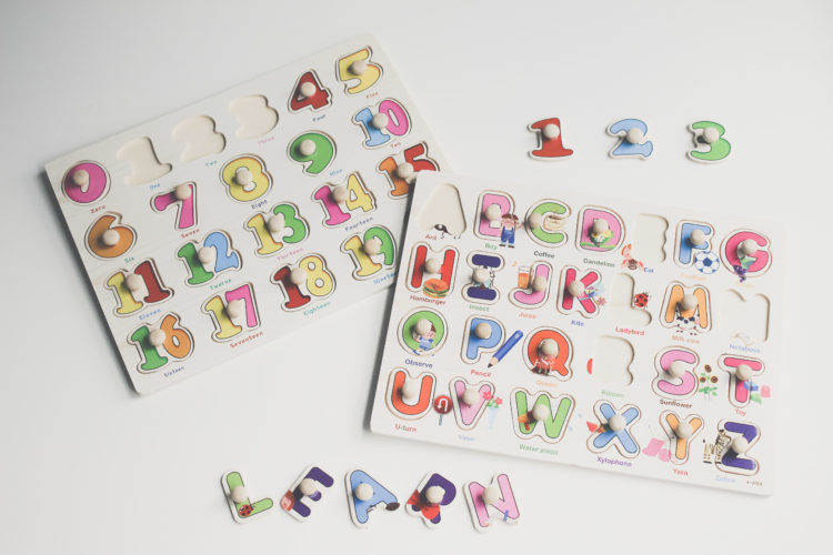 Cijfer- en letterpuzzel