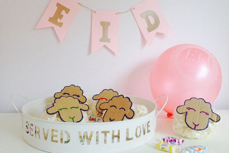 Eid ul Adha DIY Eid sheep treat