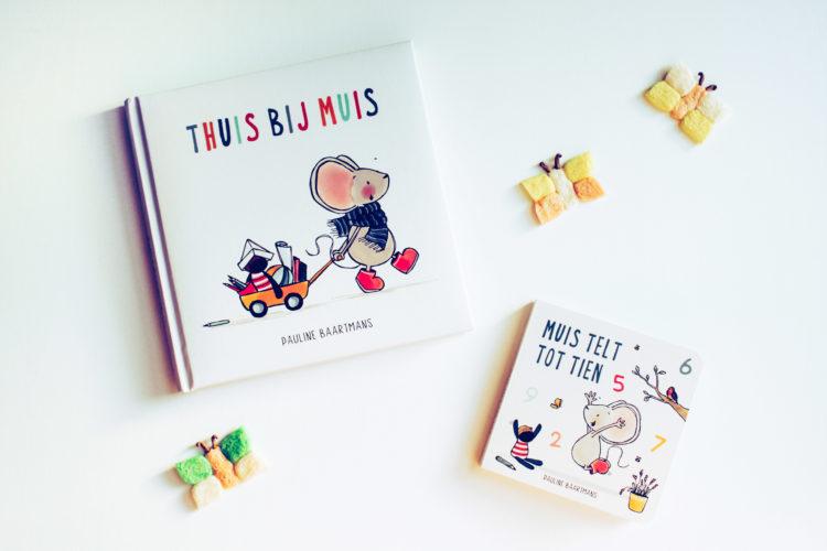 Kinderboeken Thuis bij Muis en Muis telt to tien