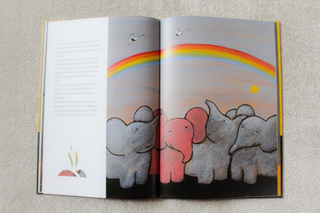 Hoe de kleine roze olifant eens heel verdrietig was