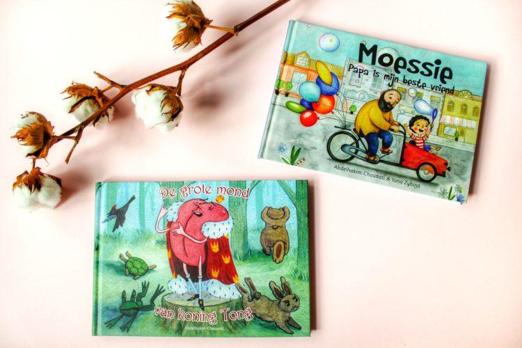 Win de boeken: Moessie - Papa is mijn beste vriend & De grote mond van koning Tong