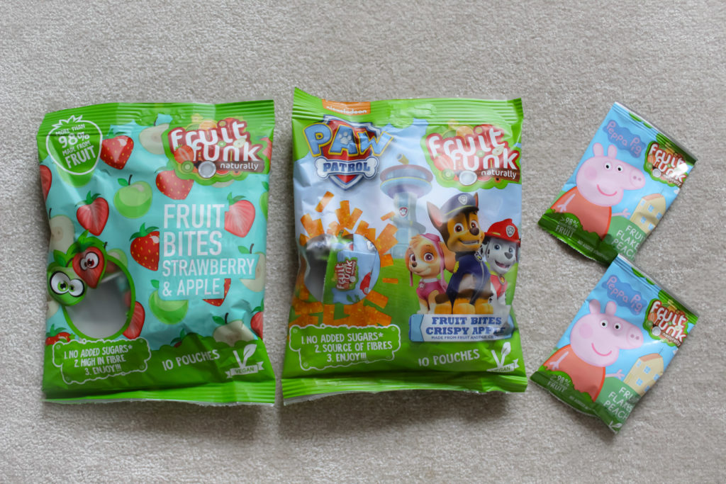 FruitFunk Fruit Bites en Flakes Peach